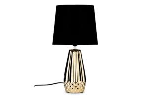 ERANA, https://konsimo.pl/kolekcja/erana/ Lampa stołowa złoty/czarny - zdjęcie