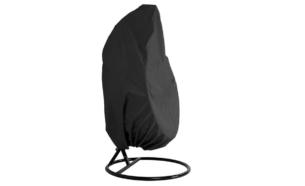 CULLUS, https://konsimo.pl/kolekcja/cullus/ Pokrowiec na fotel wiszący czarny - zdjęcie