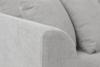 BRYONI Sofa 3 osobowa z dodatkowymi poduszkami jasnoszara jasny szary - zdjęcie 5