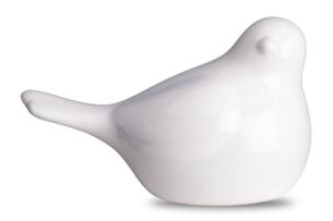 AVENIO, https://konsimo.pl/kolekcja/avenio/ Figurka ptak biały - zdjęcie