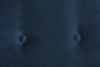 TERSO Skandynawska sofa 2 osobowa welur granatowa granatowy - zdjęcie 5