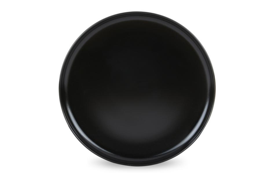 VICTO Talerz deserowy czarny/matowy - zdjęcie 1