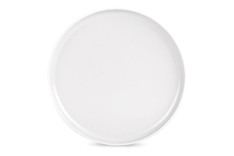 VICTO Talerz deserowy biały/matowy - zdjęcie 1
