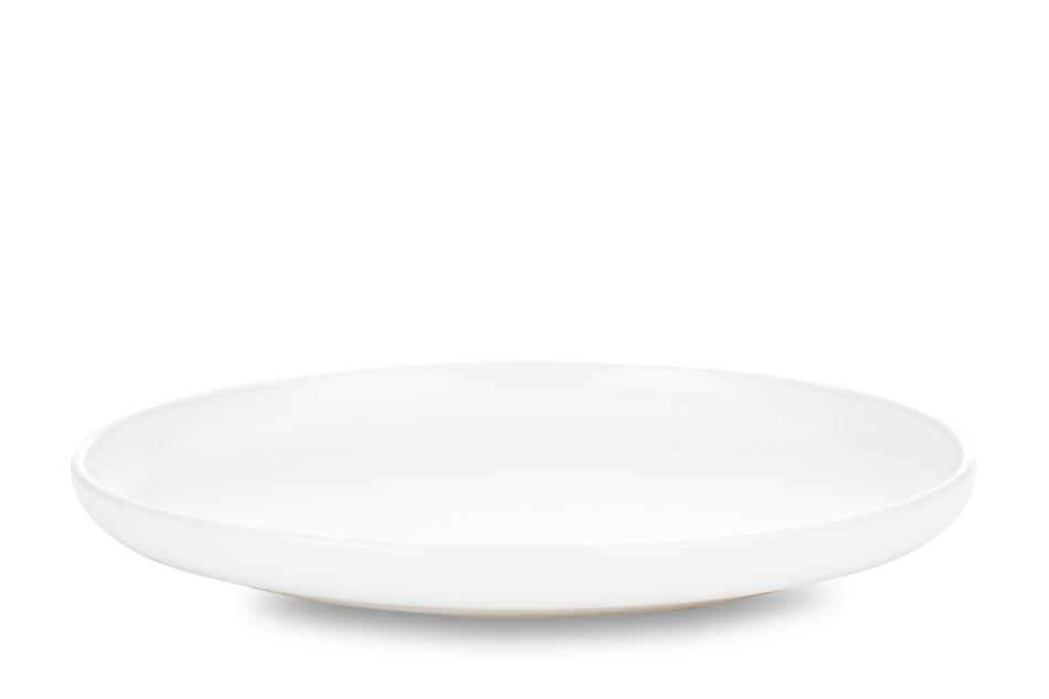 VICTO Talerz deserowy biały/matowy - zdjęcie 0