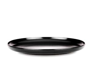 VICTO, https://konsimo.pl/kolekcja/victo/ Talerz obiadowy czarny/matowy - zdjęcie