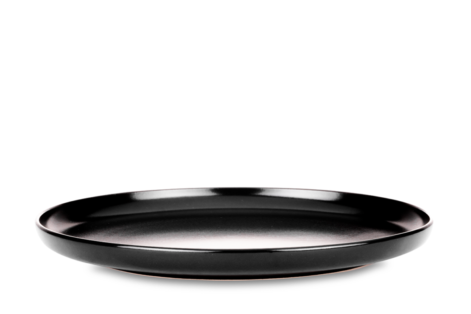 VICTO Talerz obiadowy czarny/matowy - zdjęcie 0