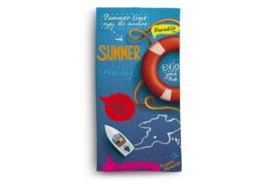 DIMUS, https://konsimo.pl/kolekcja/dimus/ Ręcznik summer niebieski/czerwony - zdjęcie