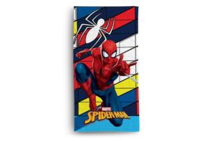 FABULIO, https://konsimo.pl/kolekcja/fabulio/ Ręcznik Spiderman czerwony/granatowy - zdjęcie
