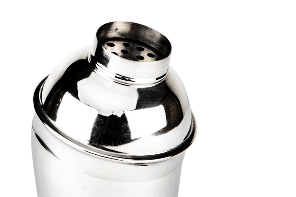 EREN Shaker srebrny 500 ml srebrny - zdjęcie 1