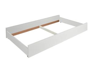 FARGE, https://konsimo.pl/kolekcja/farge/ Elegancka szuflada pod łóżko biała biały - zdjęcie