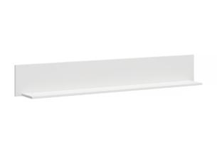 FARGE, https://konsimo.pl/kolekcja/farge/ Elegancka półka wisząca biała biały - zdjęcie