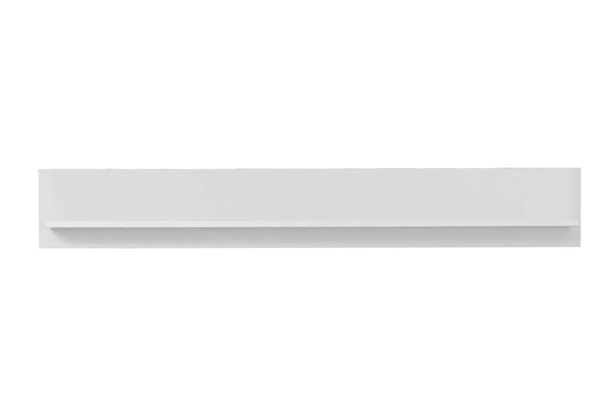 Półka wisząca do przedpokoju biała