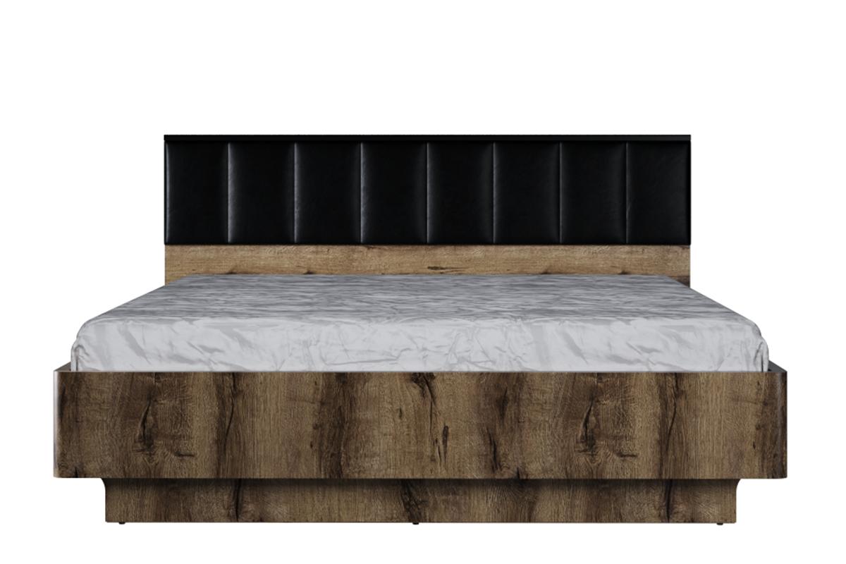 Nowoczesna rama łóżka z zagłówkiem 160x200