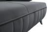 VENTI Sofa z funkcją spania z podłokietnikami welur szara szary - zdjęcie 6