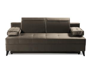NETISO, https://konsimo.pl/kolekcja/netiso/ Wygodna sofa pikowane podłokietniki beżowa beżowy - zdjęcie
