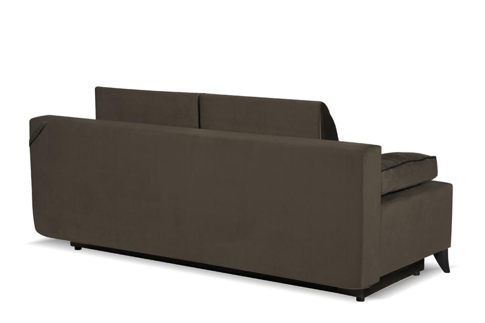 NETISO Wygodna sofa pikowane podłokietniki beżowa beżowy - zdjęcie 2