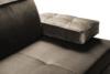 NETISO Wygodna sofa pikowane podłokietniki beżowa beżowy - zdjęcie 5