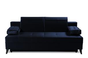 NETISO, https://konsimo.pl/kolekcja/netiso/ Wygodna sofa pikowane podłokietniki granatowa granatowy - zdjęcie