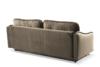 MELICO Kanapa rozkładana duże poduszki welur beżowa beżowy - zdjęcie 4