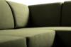 BOHUS Rozkładany narożnik w stylu skandynawskim oliwka oliwkowy - zdjęcie 4