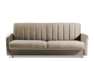 CAVICO, https://konsimo.pl/kolekcja/cavico/ Rozkładana sofa do salonu automat wersalkowy beżowa beżowy - zdjęcie