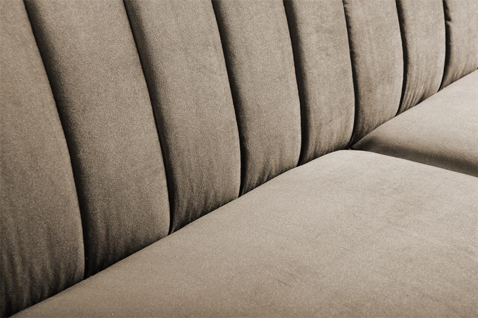 CAVICO Rozkładana sofa do salonu automat wersalkowy beżowa beżowy - zdjęcie 4