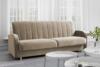CAVICO Rozkładana sofa do salonu automat wersalkowy beżowa beżowy - zdjęcie 2