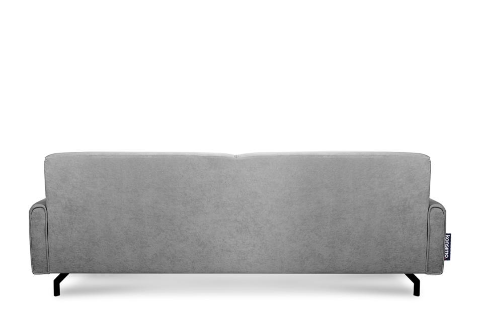 PERTO Sofa loft na czarnych nóżkach szara szary - zdjęcie 5