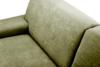 PERTO Sofa loft na czarnych nóżkach oliwkowa jasny zielony - zdjęcie 8