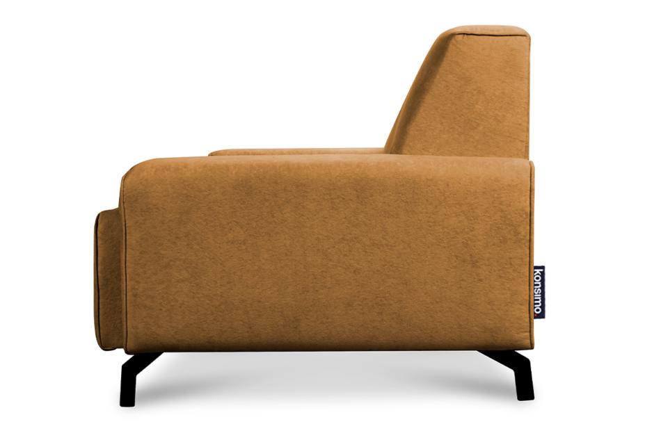PERTO Sofa loft na czarnych nóżkach ciepły brąz brązowy - zdjęcie 3