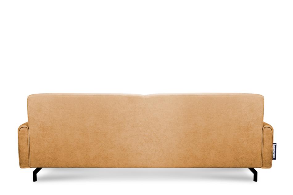 PERTO Sofa loft na czarnych nóżkach ciepły brąz brązowy - zdjęcie 4