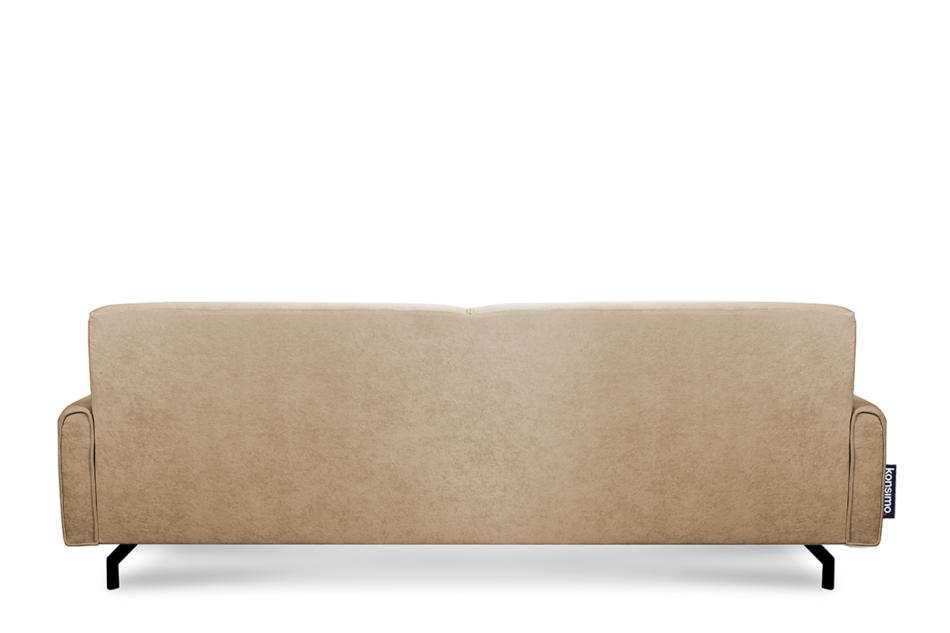 PERTO Sofa loft na czarnych nóżkach ciepły beż jasny brązowy - zdjęcie 4