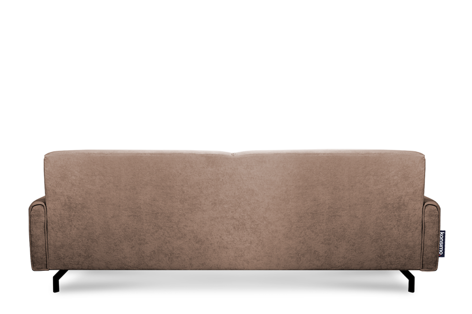 PERTO Sofa loft na czarnych nóżkach brązowa ciemny brązowy - zdjęcie 5