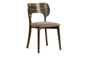 LYCO, https://konsimo.pl/kolekcja/lyco/ Krzesło loft orzech beżowe beżowy/orzech ciemny - zdjęcie