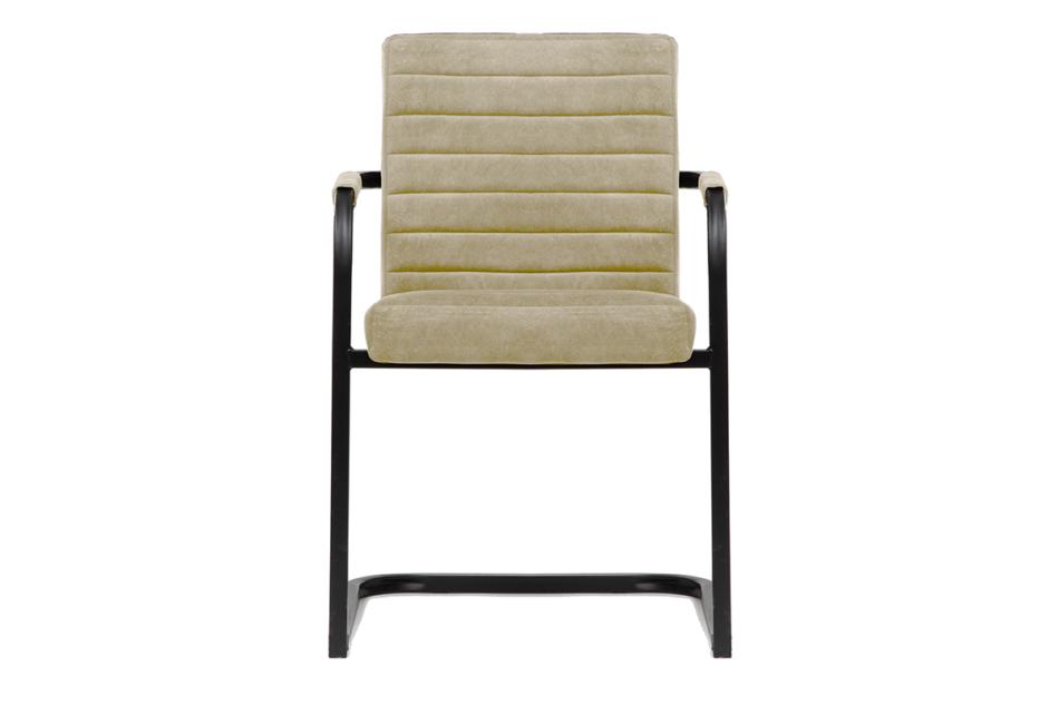 BASKO Krzesło biurowe kremowe kremowy/czarny - zdjęcie 1