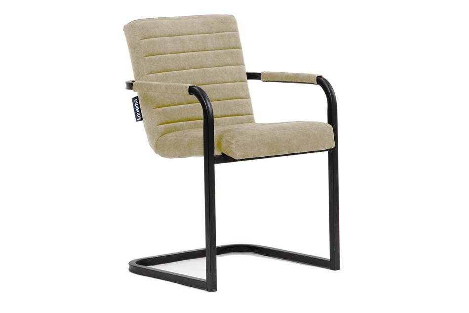 BASKO Krzesło biurowe kremowe kremowy/czarny - zdjęcie 0