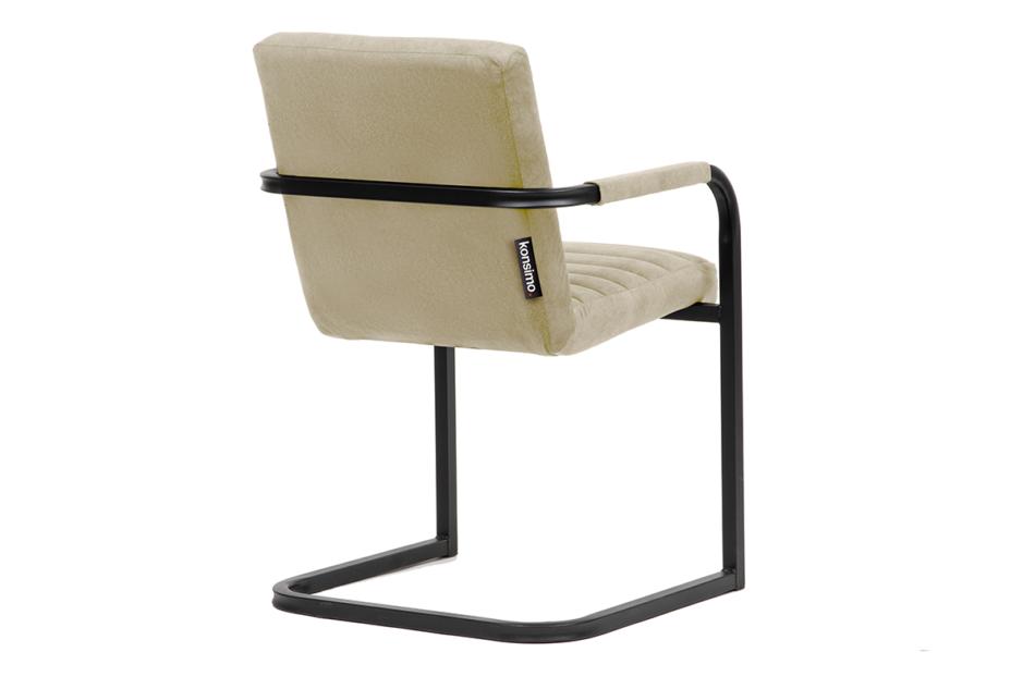 BASKO Krzesło biurowe kremowe kremowy/czarny - zdjęcie 3
