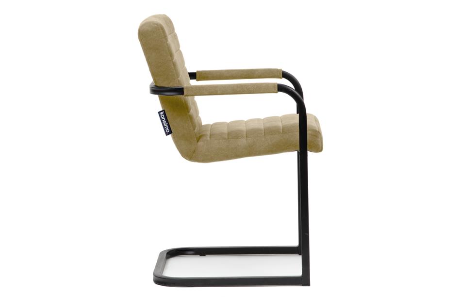 BASKO Krzesło biurowe beżowe beżowy/czarny - zdjęcie 2