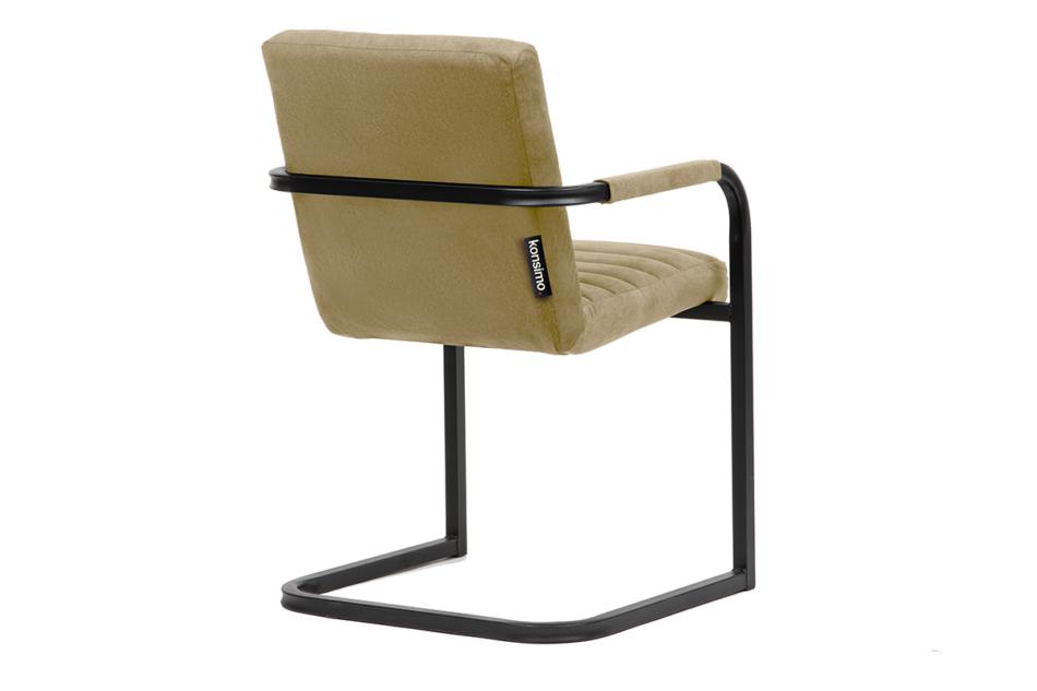 BASKO Krzesło biurowe beżowe beżowy/czarny - zdjęcie 3