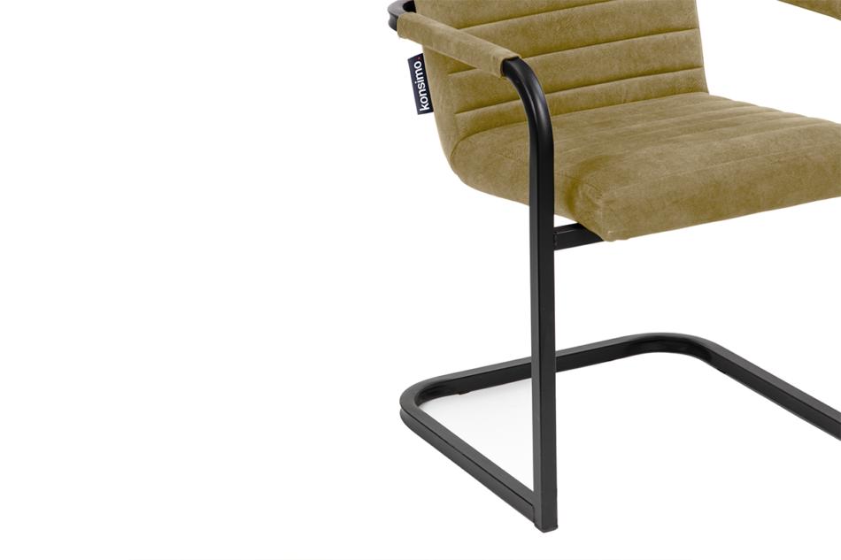 BASKO Krzesło biurowe beżowe beżowy/czarny - zdjęcie 4