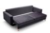 GUSTINA Skandynawska sofa 3 osobowa z funkcją spania szara Popiel - zdjęcie 4