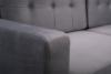 GUSTINA Skandynawska sofa 3 osobowa z funkcją spania szara Popiel - zdjęcie 6