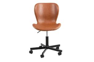 ROTIO, https://konsimo.pl/kolekcja/rotio/ Krzesło obrotowe brązowe brązowy - zdjęcie