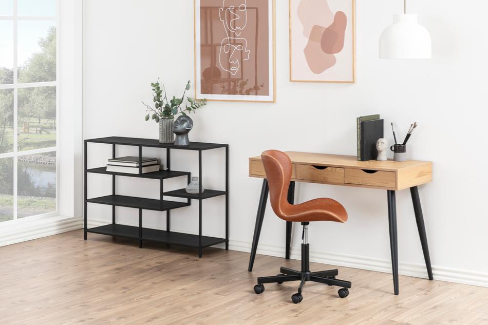 ROTIO Krzesło obrotowe brązowe brązowy - zdjęcie 1