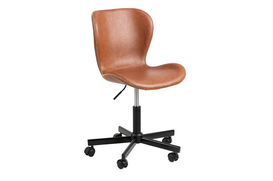 ROTIO Krzesło obrotowe brązowe brązowy - zdjęcie 2