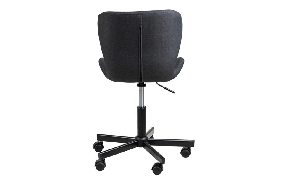 ROTIO Krzesło obrotowe tapicerowane czarne antracytowy - zdjęcie 4