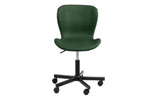 ROTIO, https://konsimo.pl/kolekcja/rotio/ Krzesło obrotowe tapicerowane zielone zielony - zdjęcie