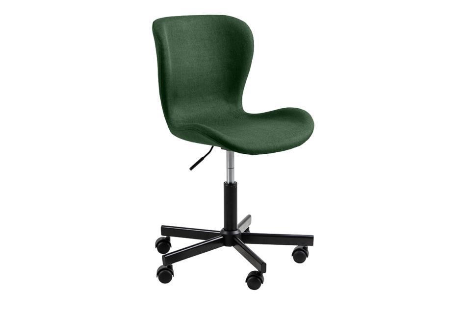ROTIO Krzesło obrotowe tapicerowane zielone zielony - zdjęcie 1
