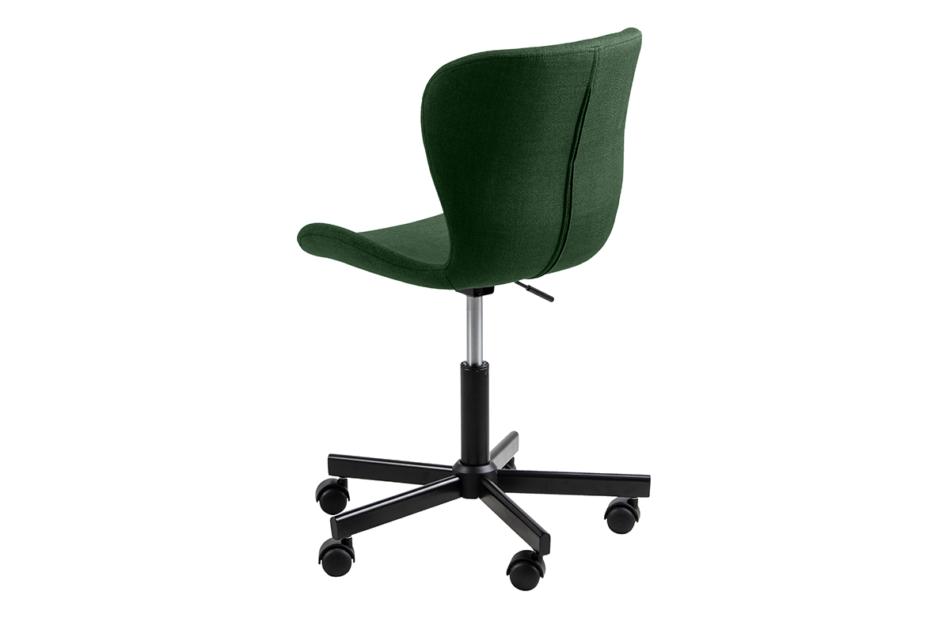 ROTIO Krzesło obrotowe tapicerowane zielone zielony - zdjęcie 2
