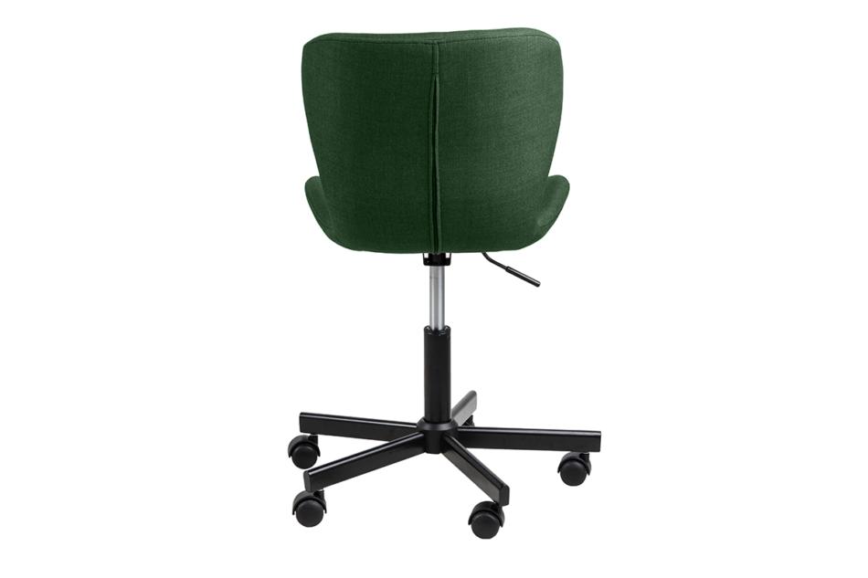 ROTIO Krzesło obrotowe tapicerowane zielone zielony - zdjęcie 3
